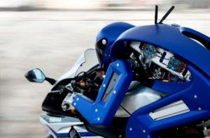 robot moto driving