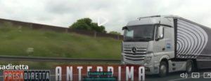 Camion Mercedes driverless