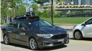 Volvo UBER driverless